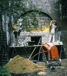 Bau eines Fledermausquartiers