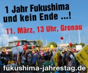 1 Jahr Fukushima und kein Ende...!